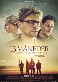 Hovedplakat 13 MÅNEDER på kino 29.5