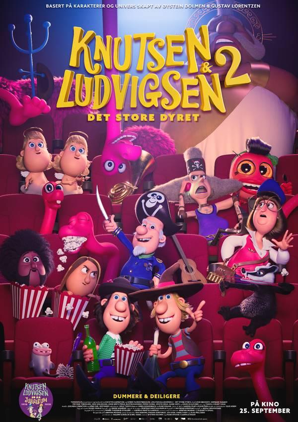 Knutsen & Ludvigsen 2 - Det Store Dyret movie poster image