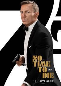 James Bond: No Time To Die A4 - Skjerm