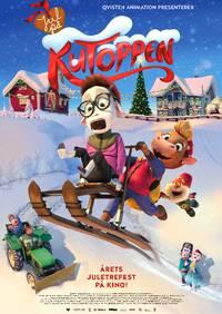 Jul på KuToppen Hovedplakat - Skjerm