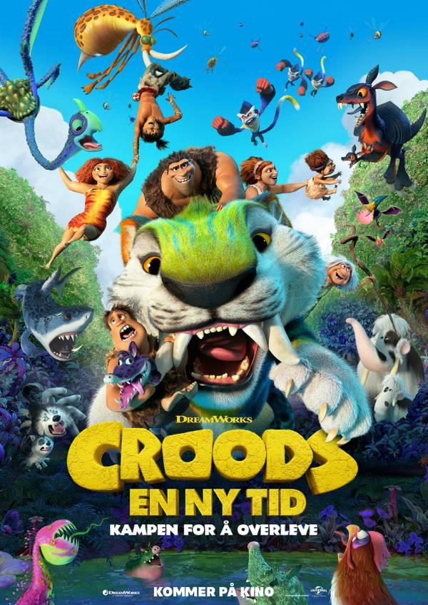 Croods - En ny tid movie poster image