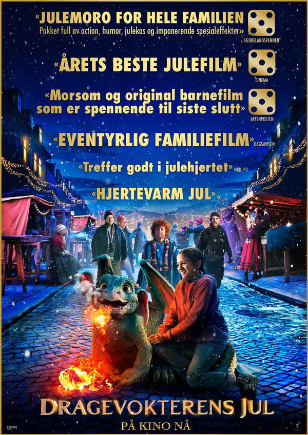 Dragevokterens jul movie poster image