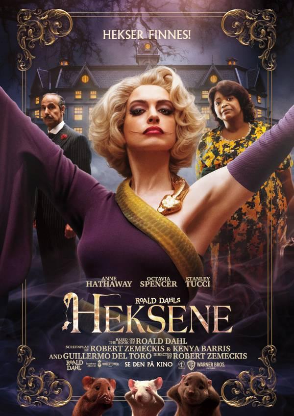 Roald Dahls Heksene movie poster image
