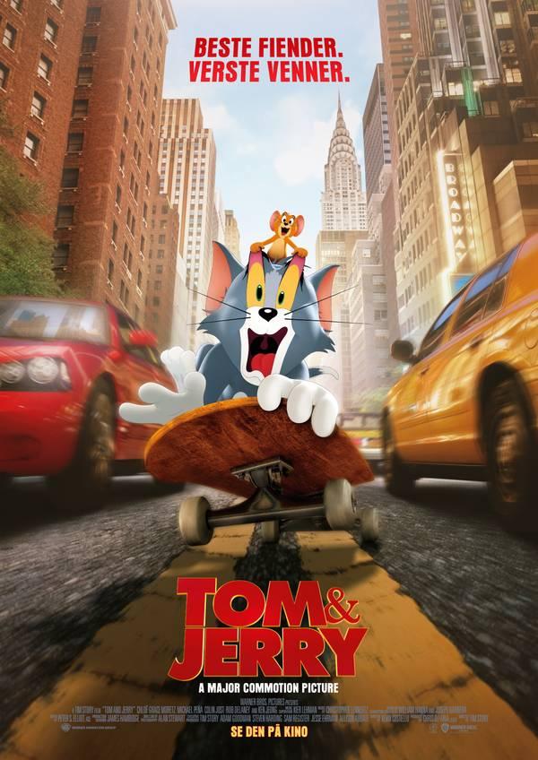 Tom & Jerry movie poster image