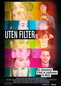 Uten filter Uten Filter - Plakat