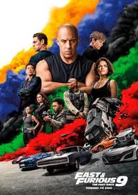 Fast & Furious 9 A4 plakat