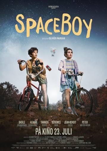 Spaceboy Plakat i A4-format