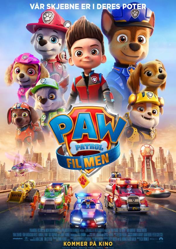 PAW Patrol: Filmen movie poster image