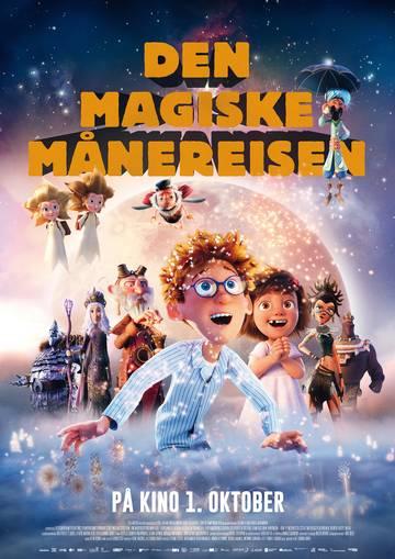 Den magiske Månereisen Plakat i A4-format