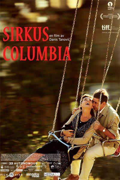 sirkus columbia plakat