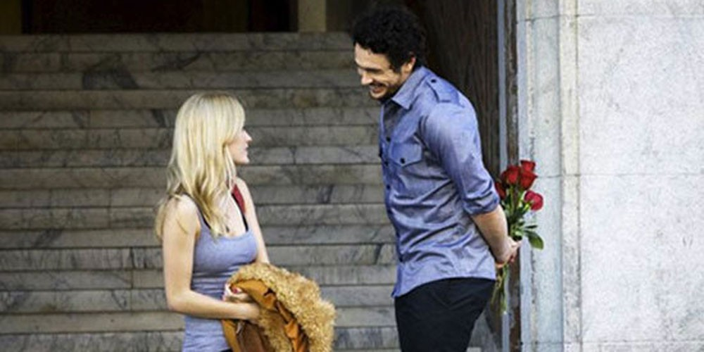 Ashley Hinshaw og James Franco i Cherry