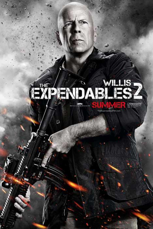Bruce Willis i The Expendables 2