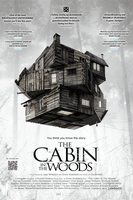 The cabin in the woods norsk plakat