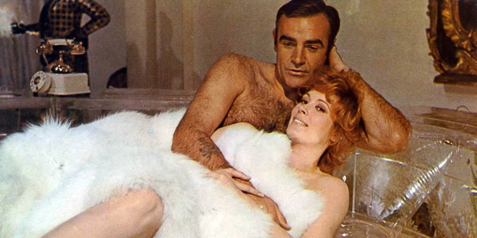 Jill St. John og Sean Connery i Diamonds Are Forever