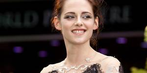 Kristen Stewart på verdenspremieren til Snow White and the Huntsman