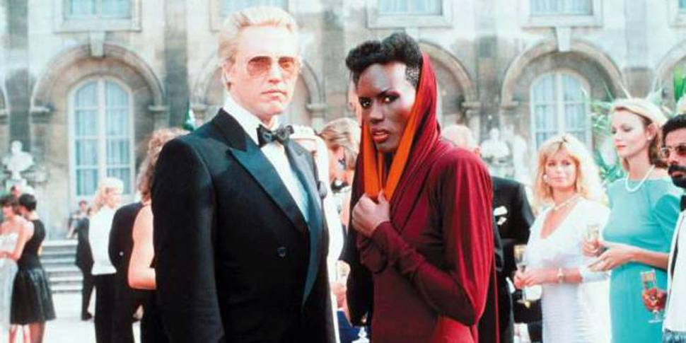 Christopher Walken og Grace Jones i A View to a Kill