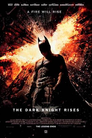 The Dark Knight Rises kinoplakat