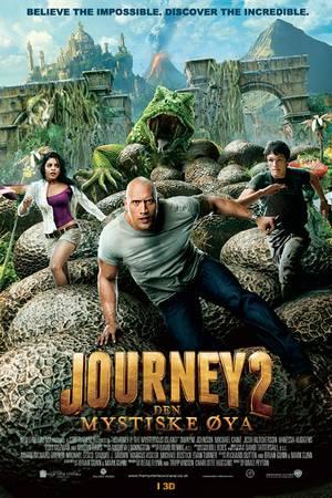 Journey 2 -Den mystiske øya plakat