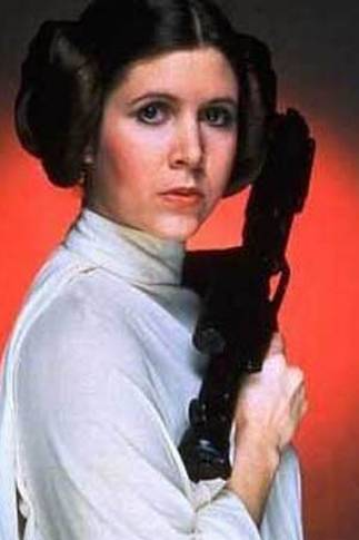 Carrie Fisher som Prinsesse Leia