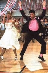 John Travolta og Olivia Newton-John i Grease