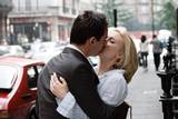 Scarlett Johansson og Jonathan Rhys-Meyers i et hett øyeblikk i Match Point