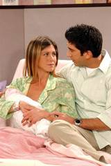 Jennifer Aniston og David Schwimmer i Venner for livet