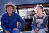 Robert Redford og Scarlett Johansson i Hestehviskeren