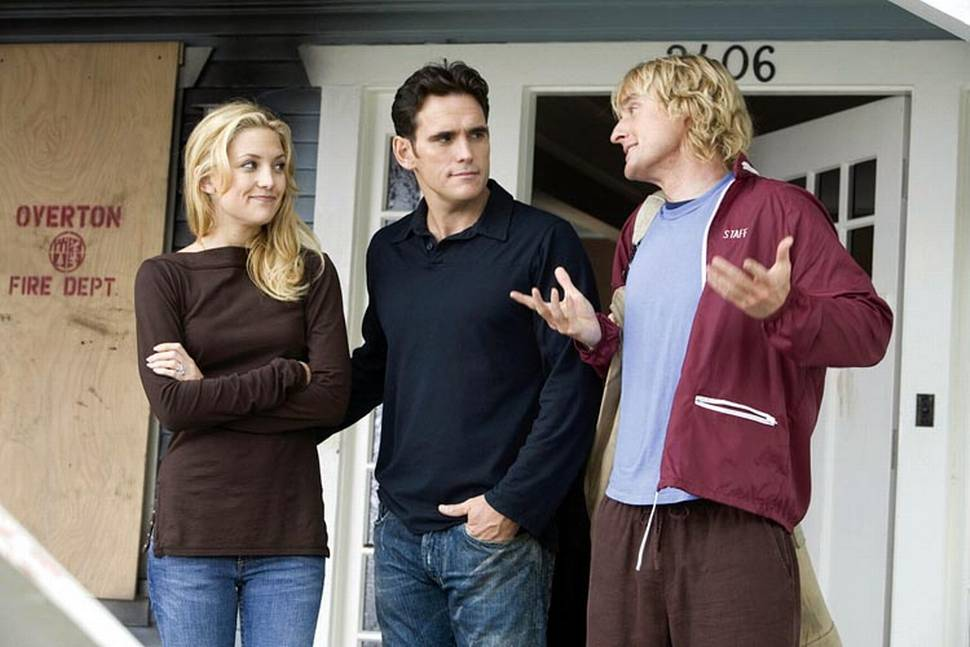 Owen Wilson, Kate Hudson og Matt Dillion i You, Me and Dupree
