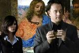 Audrey Tatou og Tom Hanks i Da Vinci koden (2006)