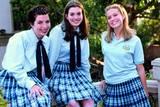 Heather Matarazzo, Anne Hathaway og Mandy Moore i Prinsesse på prøve