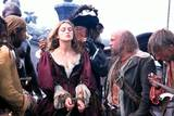 Geoffrey Rush og Keira Knightley i Pirates of the Caribbean: The Curse of the Black Pearl