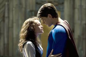 Lois Lane (Kate Bosworth) og Superman (Brandon Routh) i Superman Returns