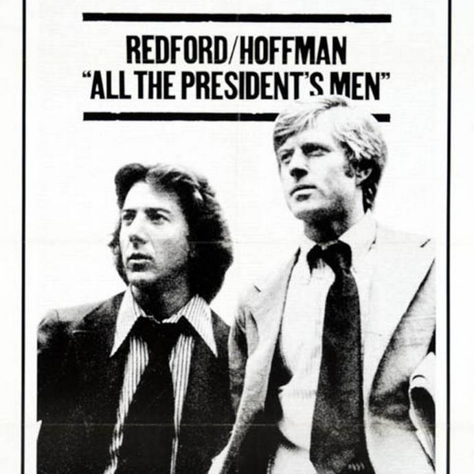 the investigation of the government conspiracy in the movie all the presidents men All the president's men stands out for having a certain charisma, not just for being about one of the most notorious political scandals in american history its style amplifies its substance dustin hoffman plays the fast-talking, somewhat socially inept, near-ruthless bernstein with a perfect mixture of hunger and hope.
