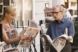 Woody Allen og Scarlett Johansson i filmen Scoop