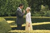 Rikmannssønnen Peter Lyman (Hugh Jackman) og journaliststudenten Sondra Pransky (Scarlett Johansson).