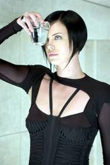Charlize Theron i Aeon Flux