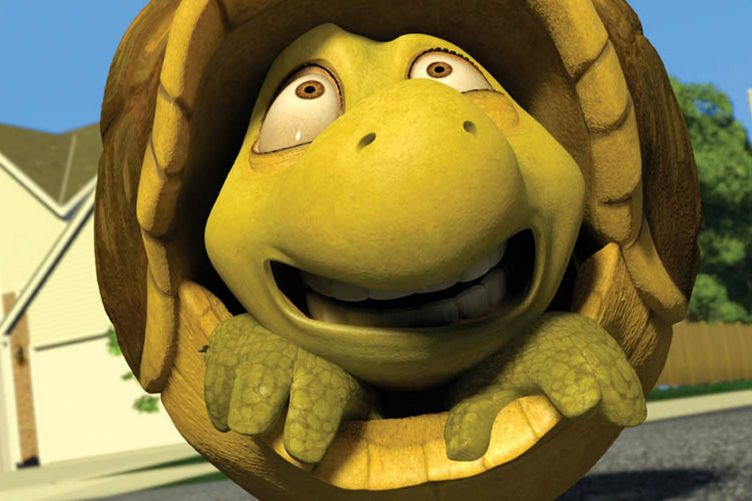 Uncategorized Verne The Turtle bildeserie for over hekken trondheimkino pictured verne the turtle in a scene from dreamworks animations computer animated comedy hedge