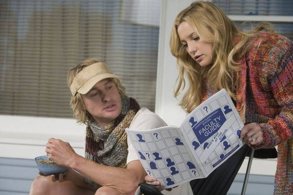 Owen Wilson og Kate Hudson i Du, jeg og Dupree