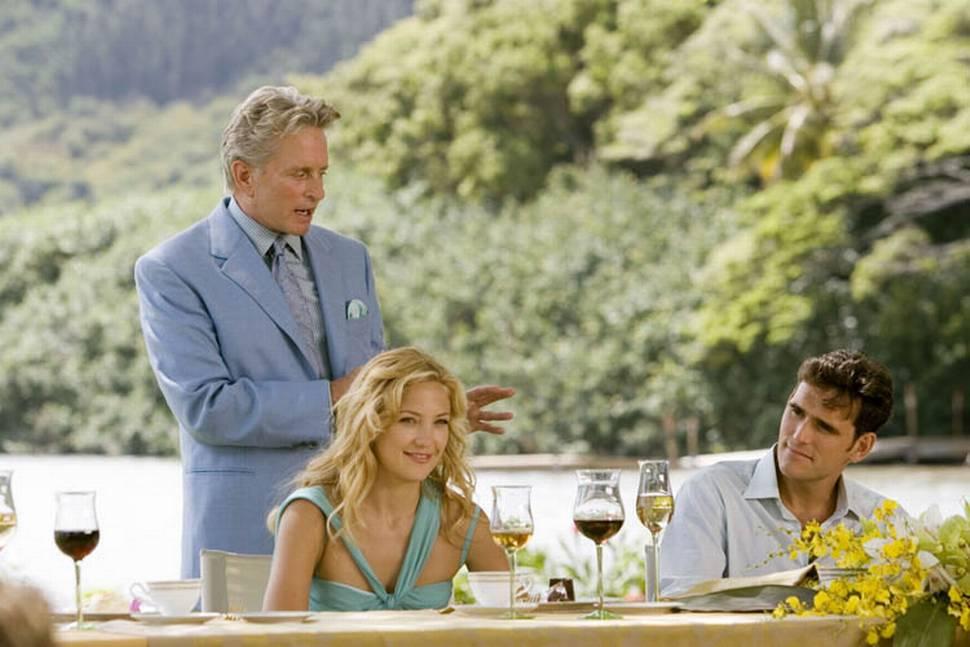 Michael Douglas, Kate Hudson og Matt Dillon i Du, jeg og Dupree