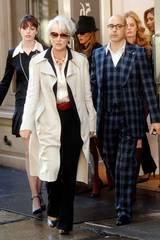 Meryl Streep, Stanley Tucci og Anne Hathaway i The Devil Wears Prada