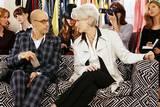 Meryl Streep og Stanley Tucci i The Devil Wears Prada