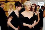 Meryl Streep og Anne Hathaway i The Devil Wears Prada