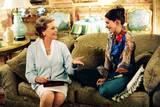 Anne Hathaway og Julie Andrews i Prinsesse på prøve 2 - Kongelige forviklinger