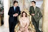 Chris Pine, Anne Hathaway og Callum Blue i Prinsesse på prøve 2 - Kongelige forviklinger