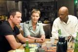 John Travolta, Connie Nielsen og Samuel L. Jackson i Basic