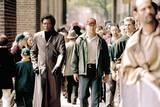 Bruce Willis og Samuel L. Jackson i Unbreakable