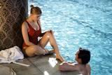 Scarlett Johansson og Hugh Jackman i Scoop