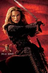 Keira Knightley som Elizabeth Swann i Pirates of the Caribbean - At World's End