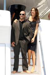 Jason Statham og Saffron Burrows The Bank Job