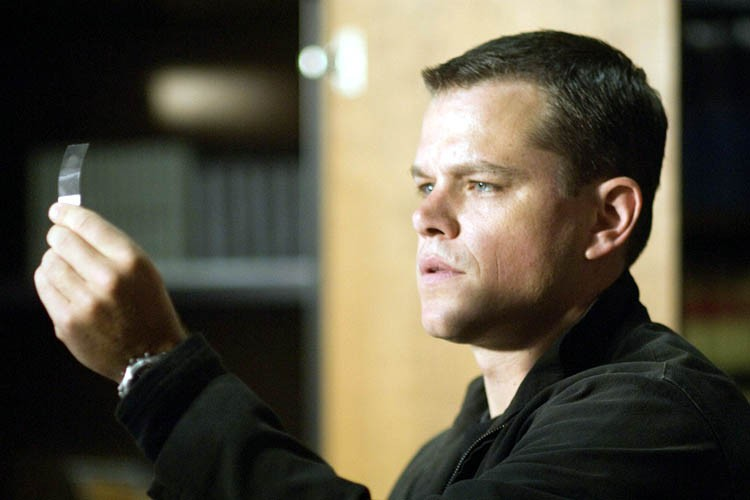 Matt Damon i The Bourne Ultimatum